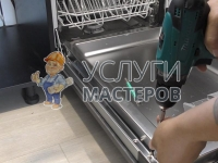 Монтаж посудомоечной машины в гарнитур