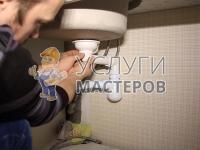 Монтаж сифона для ванны