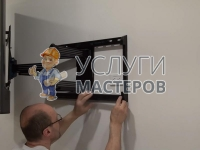 Монтаж телевизора на кронштейн