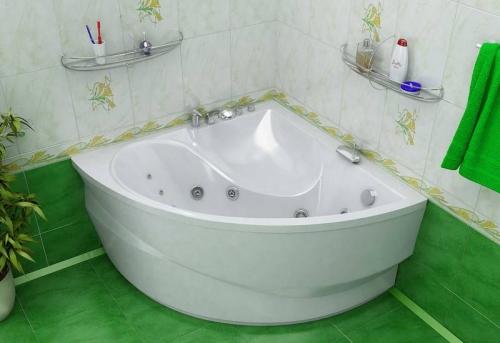 Установка угловой ванны в Москве
