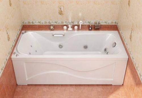 Установка ванны с гидромассажем в Москве
