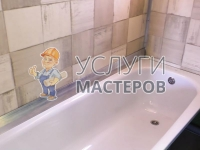Монтаж ванны гидромассажем
