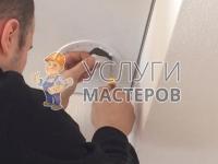 Монтаж вентиляционной решетки на кухне