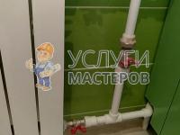 Установка перемычки на радиатор отопления