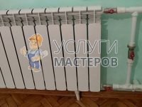 Установка байпаса на батарею отопления