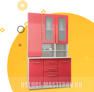 Сборка кухонного гарнитура в Москве