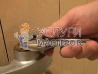 устранение протечки смесителя в ванной