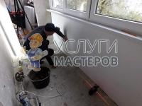 Утепление балконов минеральной ватой