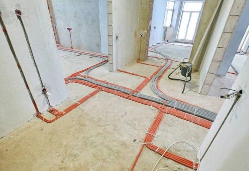 Замена проводки в 3-комнатной квартире в Москве