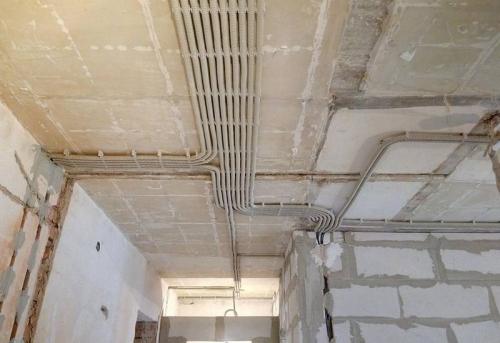 Замена проводки в 4-комнатной квартире в Москве