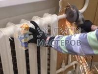 Замена радиатора отопления в квартире