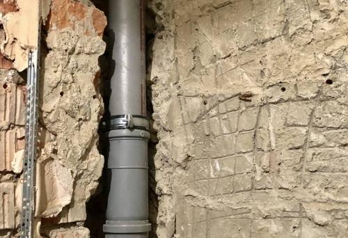 Замена стояка канализации в Москве